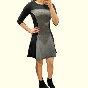 Fit and Flare Slimming Dress
